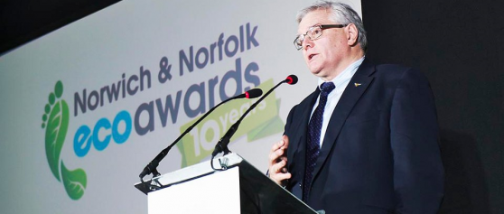 Celebrating Success at the Norwich and Norfolk Eco Awards Ceremony