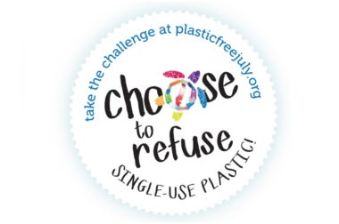 'Choose to Refuse' during Plastic Free July – Claire's Journey