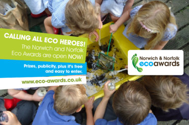 Norwich and Norfolk Eco Awards 2018-19 are open for entries!