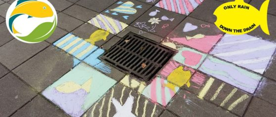'Only Rain Down the Drain' in Yellow Fish Campaign