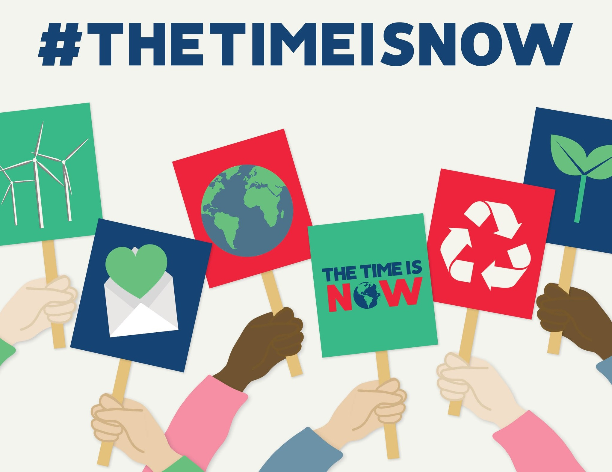 'The Time Is Now' to tackle Climate Change